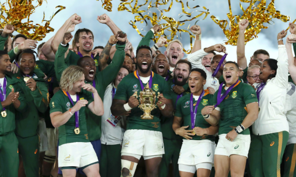 INSPIRED BY THE SPRINGBOKS TO BUILD A WINNING TEAM