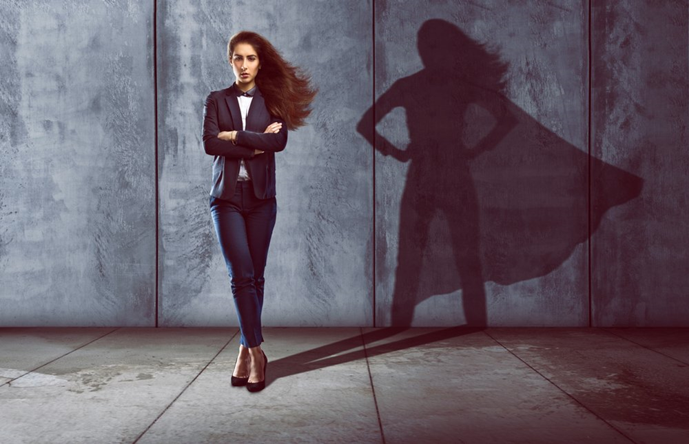 WOMEN OWNING THEIR SPACE IN BUSINESS
